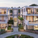 Appartementen met strak design in Malinska